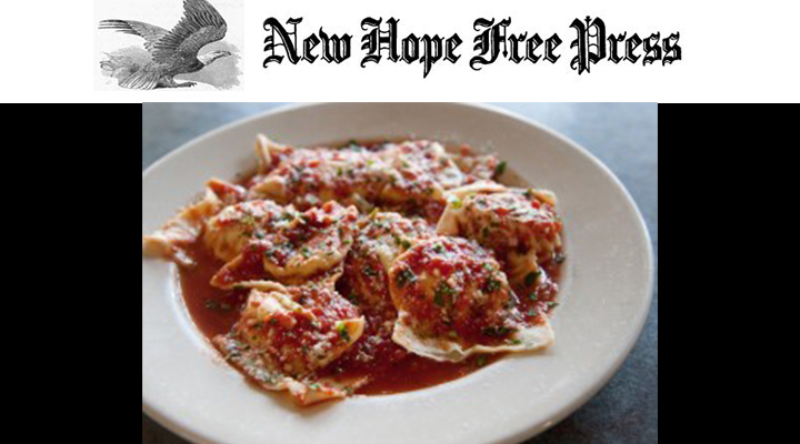 The New Hope Free Press - Ravioli New Hope Free PressCharlie SahnerFebruary 2, 2016
