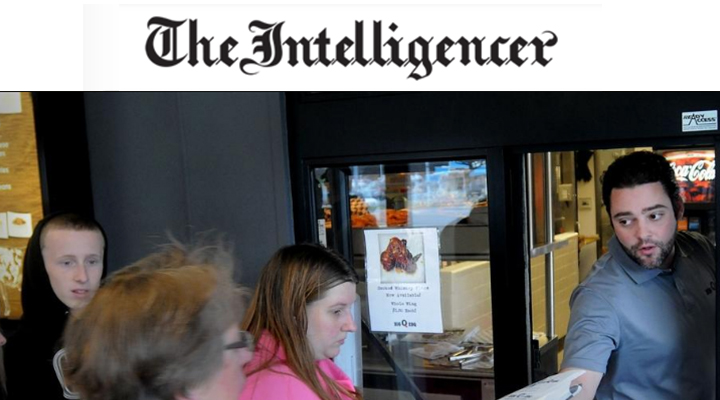 The Intelligencer - Making a Living: Restaurant business gives Bucks family a taste of successAmanda CreganDecember 29, 2015