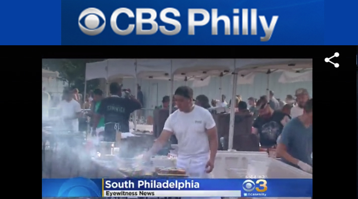 CBS Philly - Philly Burger Brawl Goes Beyond the BunJustin UdoJune 26, 2016