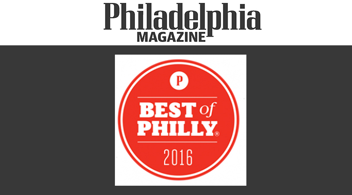 Philadelphia Magazine Best of Philly - 2016 Deal for Carnivores