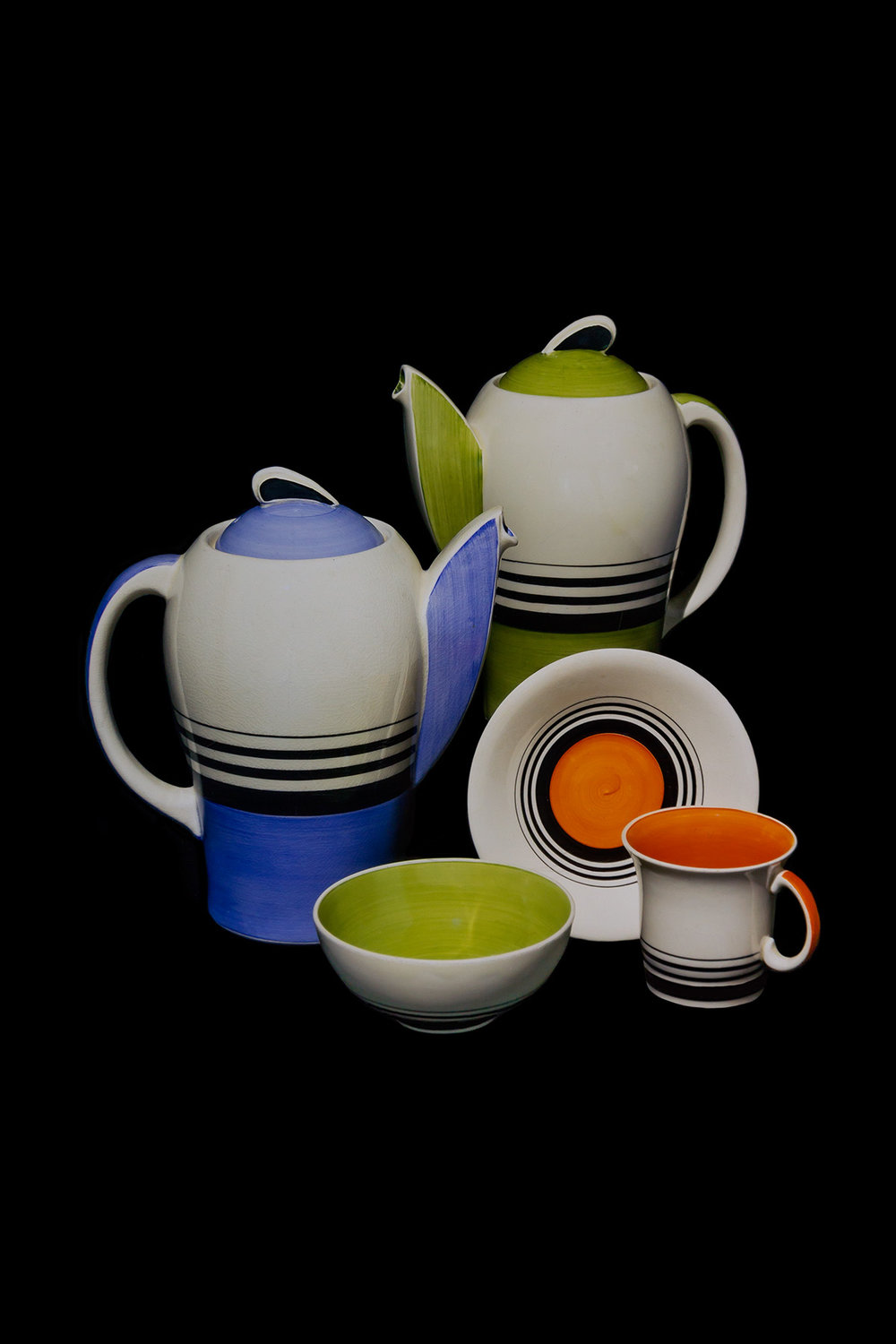 Susie Cooper Ceramics, private collection