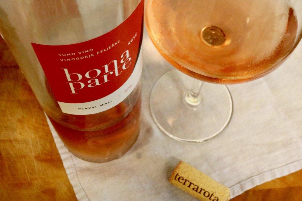 Rota wines from Peljesac, Dalmatia, Croatia