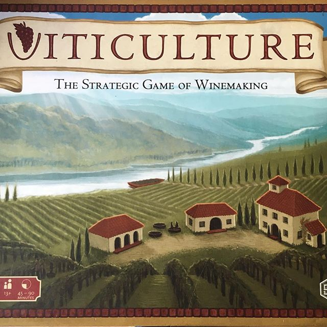 Yeah... this will be happening. Board games! Wine! Wine board games! ... ... ... #wine #winelover #boardgames #viticulture #gamenight