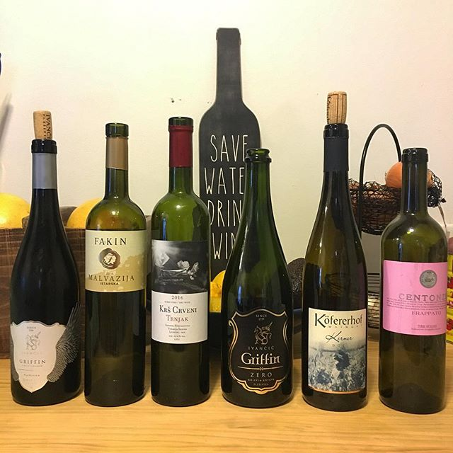 The results of our Sunday afternoon tasting with @ammehring - we wandered around Eastern Europe through our wine glasses, with a couple stops in Italy. 🍷🍷🍷 ... ... ... ... #winetime #wineknowledge #winetasting #education #wineoclock #italianwine #croatianwine #herzegovinawines #exoticwine #winegram #oenophile #igwine #winenight