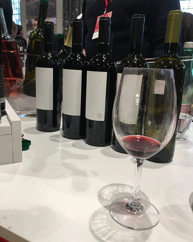 Some tasty selections from @stina_vino at @vinart_grand_tasting yesterday. We're headed back today for day two! ... ... ... ... #vinart2018 #vinartgrandtasting #zagreb #lauba #croatianwine #wineshow #winetasting #winefestival #wineoclock #winebiz #igwine #winelovers