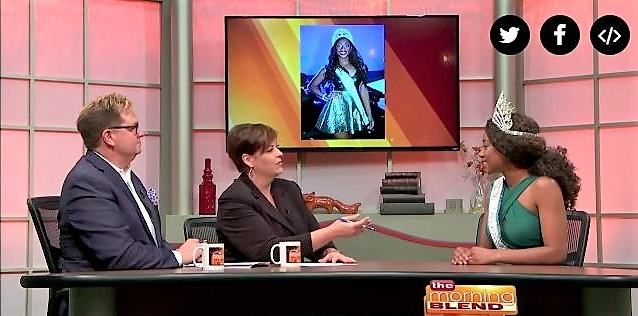 Ashley Marie Interview on Fox 47's MorningBlend