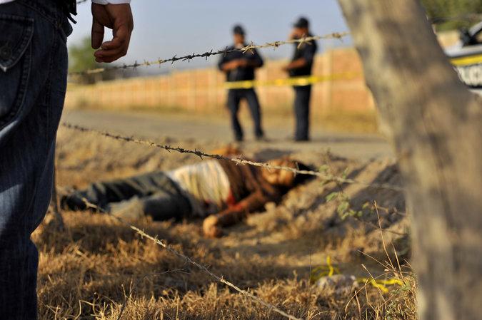 A victim of drug violence in Mexico. Credit: Fernando Brito