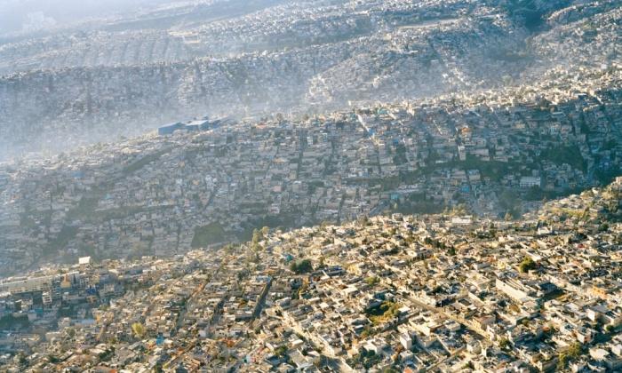 Sprawl in Mexico City