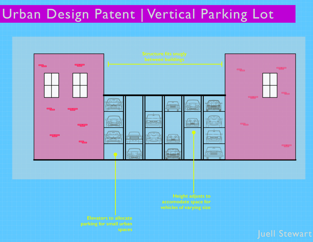 Vertical Parking Garage