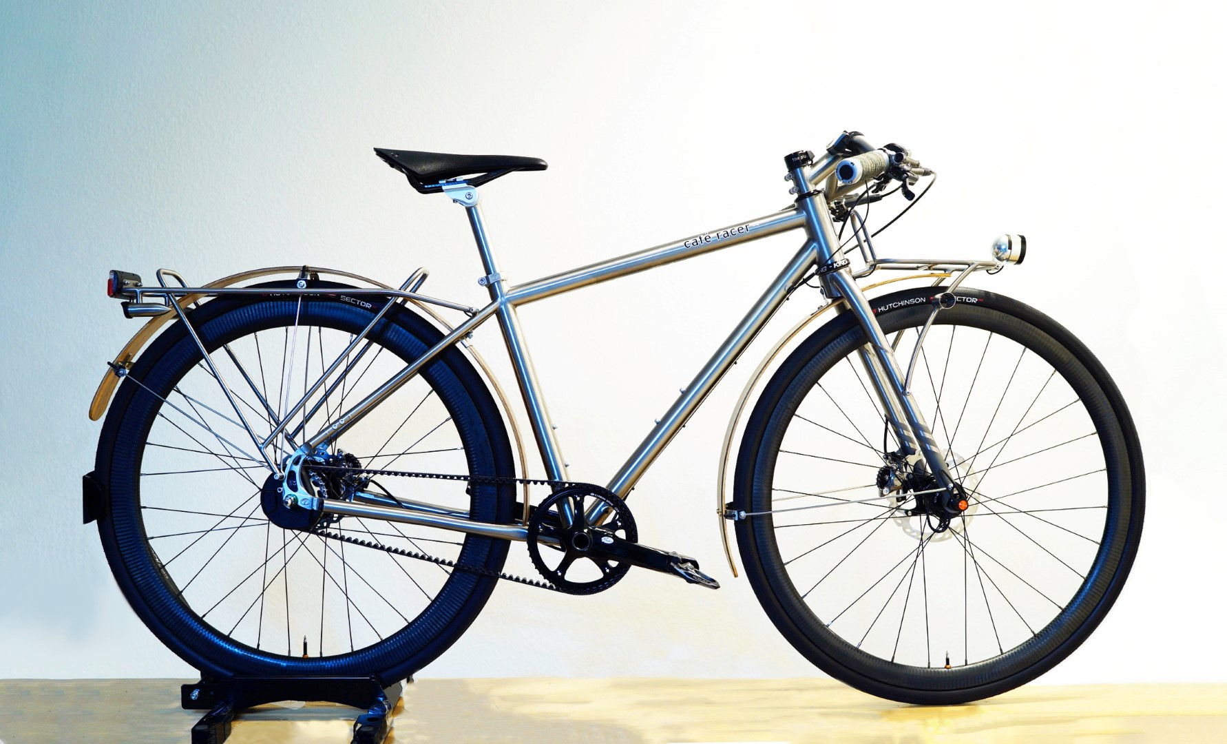 Custom Titanium Racks + Bits for Seven Cafe Racer — TI CYCLES ...
