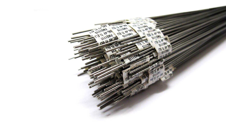 Titanium 6AL-4V (Grade 5) TIG Welding Wire .045 x 36\