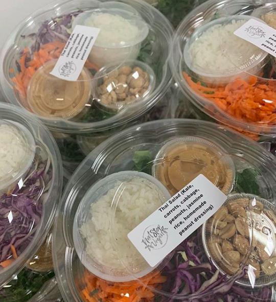 Vegan Thai Salad ( via Instagram )