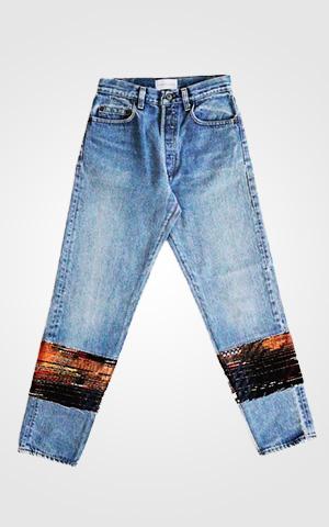 Black Calypso Jean