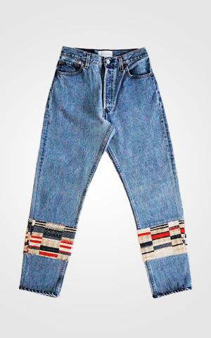 Blue Calypso Jean $450