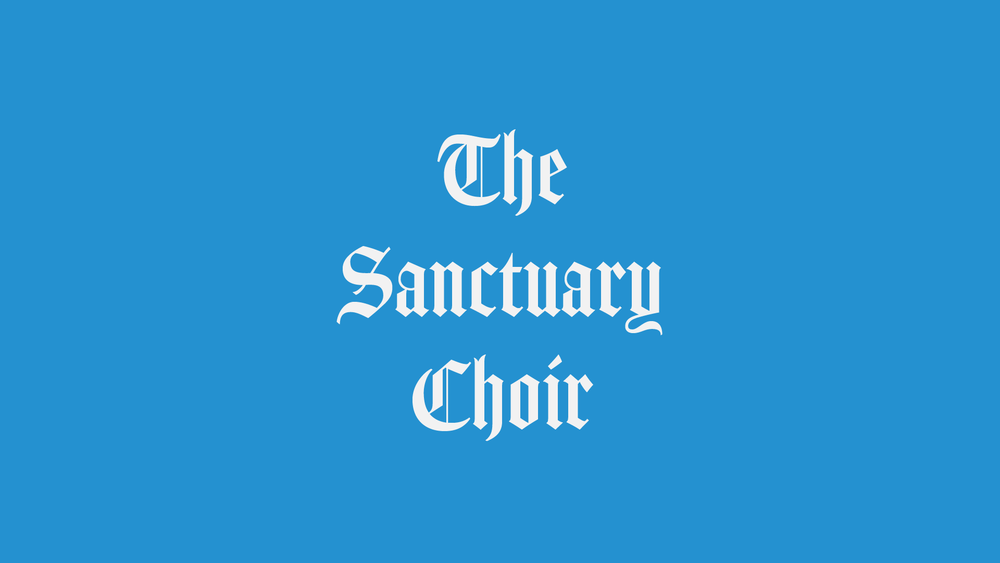 High School to Senior Adults may become a part of the Sanctuary Choir by attending rehearsals.  Wednesdays 7:30 pm (Choir Loft)