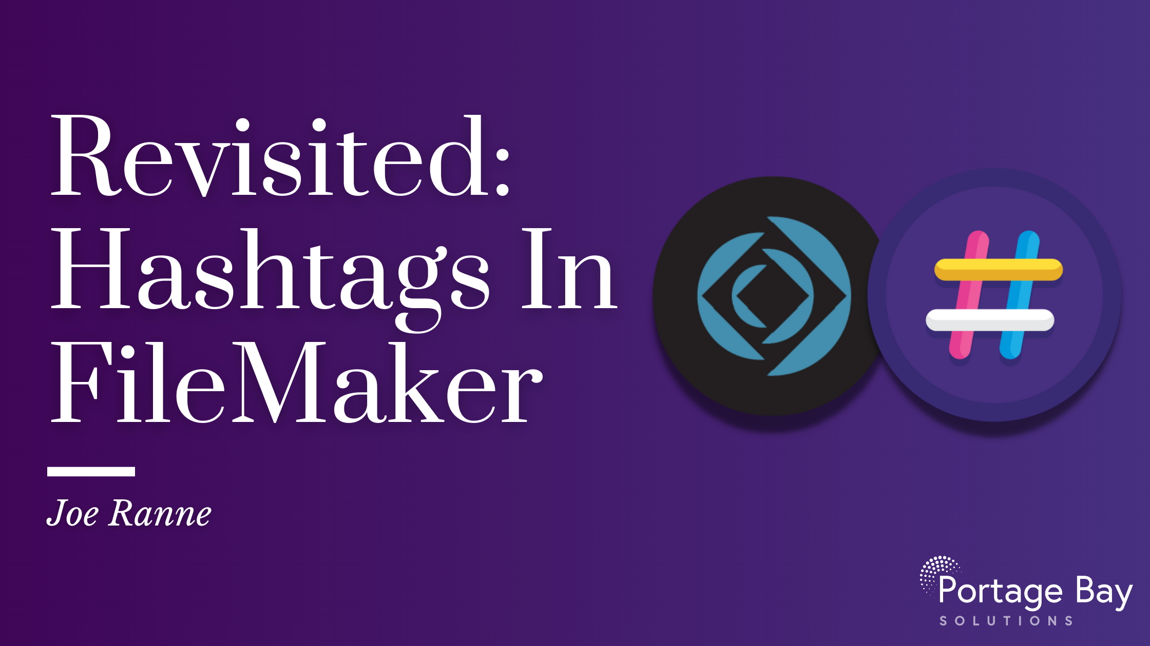 Demos — Portage Bay Solutions | FileMaker Database Developer