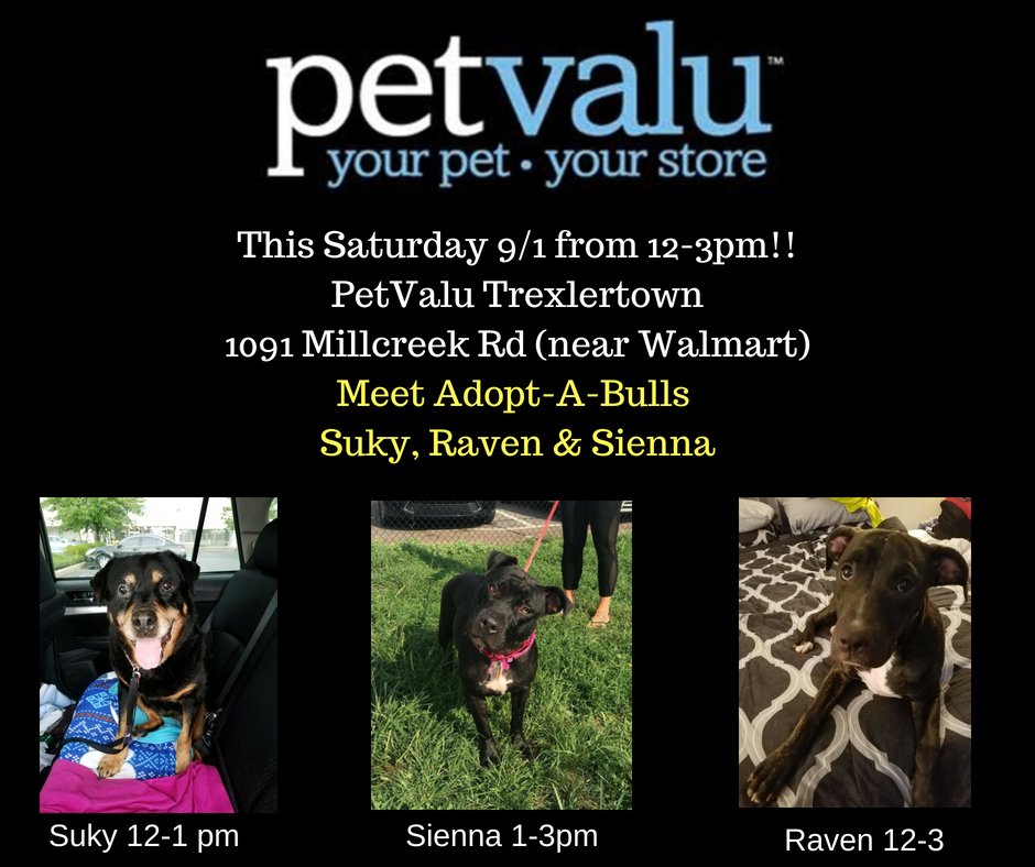This Saturday!!PetValu Trexlertown1091 Millcreek Rd (near Walmart).png