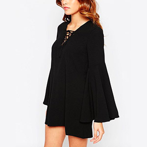 Flared - ASOS - Black Dress.jpg