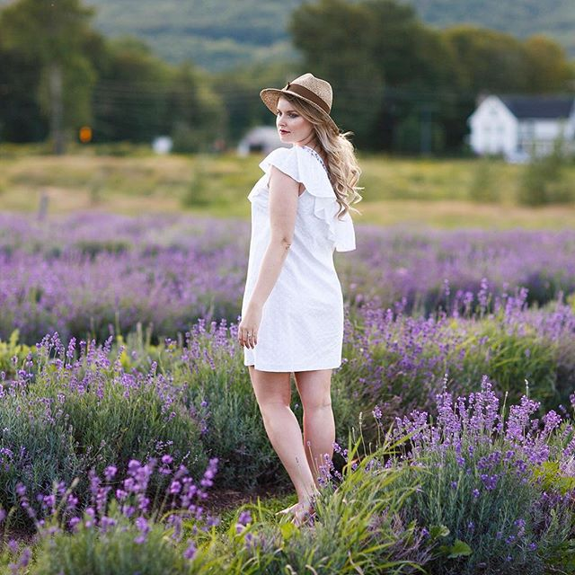 Lavender field 🌾 Shop the look of @working_chix on labelsco.com