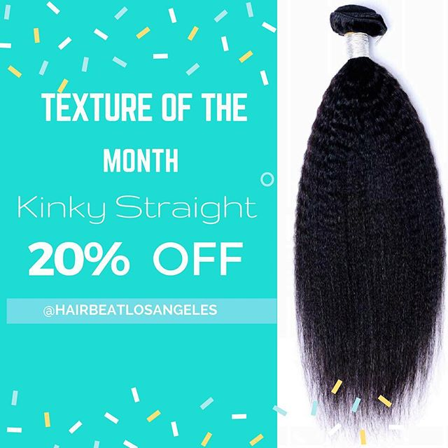 [ Now adding weaves to service ] kinky straight is 20% off this whole month !  Purchase 3 bundles and a closure and receive your install for $180