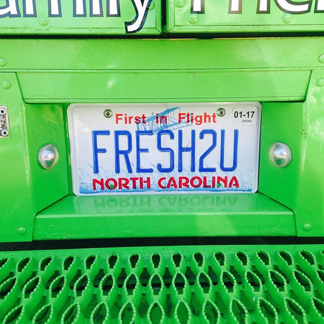 The fresh truck is out at 4700 six forks today 11:30-1:30pm for lunch today!!!