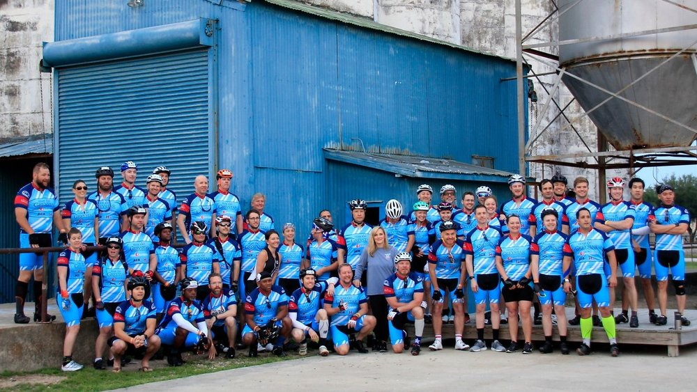 Team Greystar BP MS 150 participants.