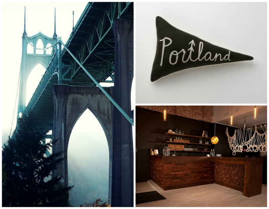 pinterest, hometown, map pins, portland, orgeon