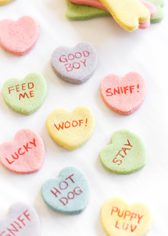 Valentine Dog Treats from the Etsy Blog