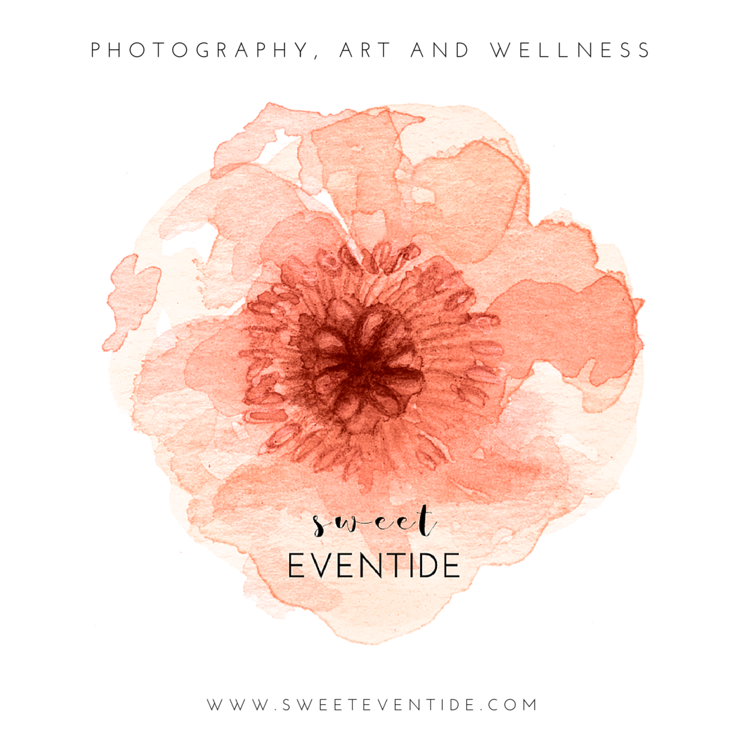 sweet eventide photography art and wellness logo branding