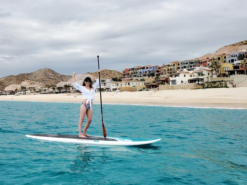 stand up paddleboard ocean SUP sea of cortez mexico cancer survivor travel photograph