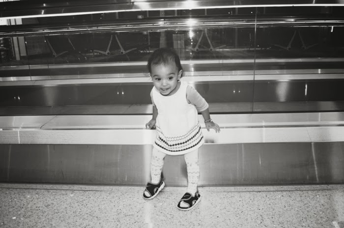 baby in LAX