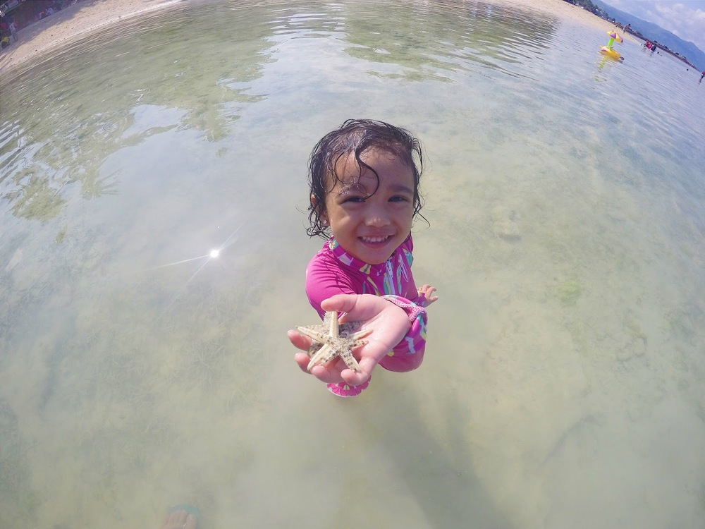 Badian for Holy Week with summer essential kit toddler cebu