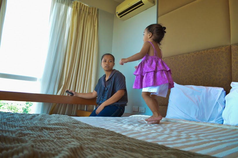 sotogrande resort cebu philippines with toddler
