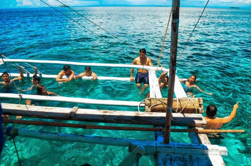 Island Hopping friends philippines cebu birthday