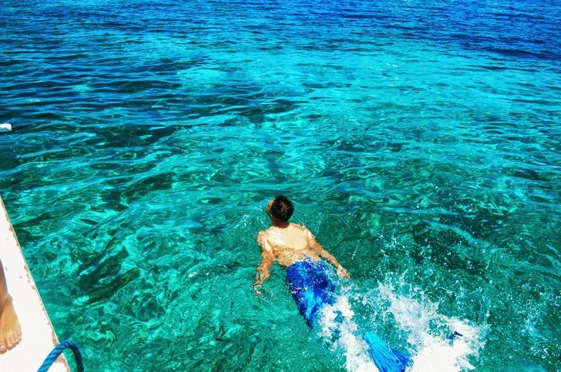 Island Hopping friends philippines cebu birthday mermaid