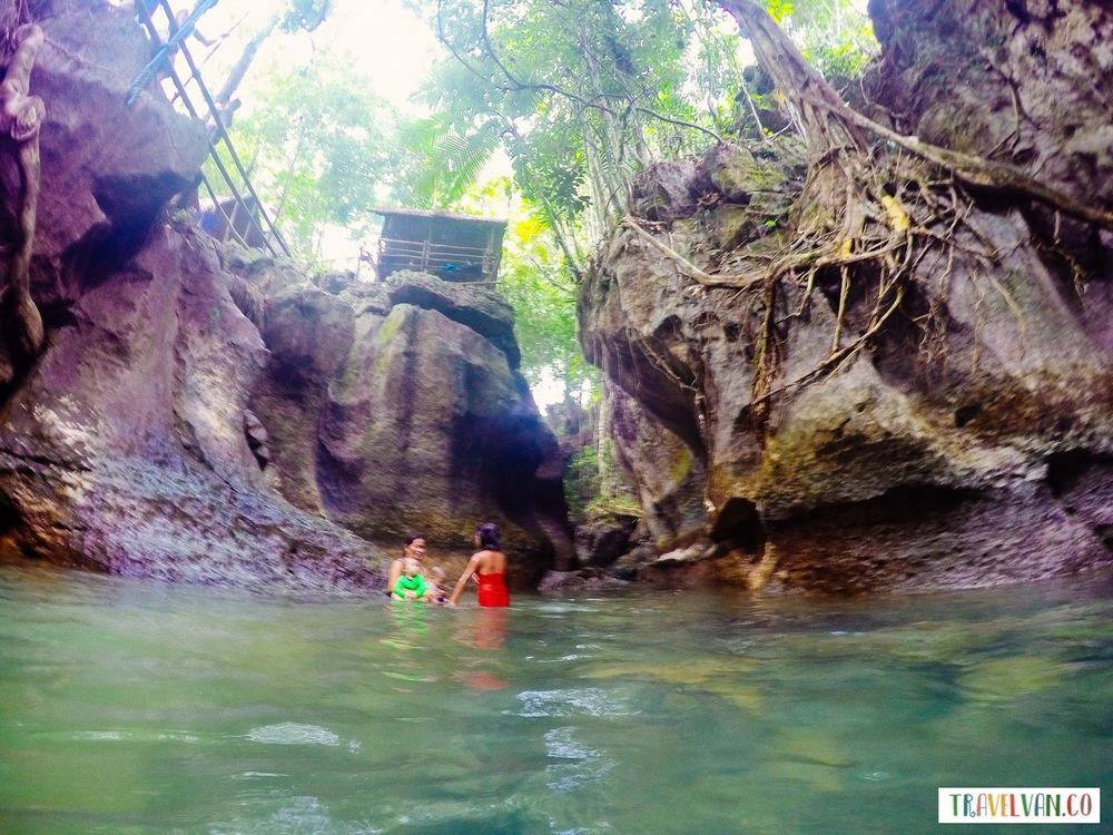 Siargao Secret: Fresh Water Tayangban Cave Pool Travel Philippines