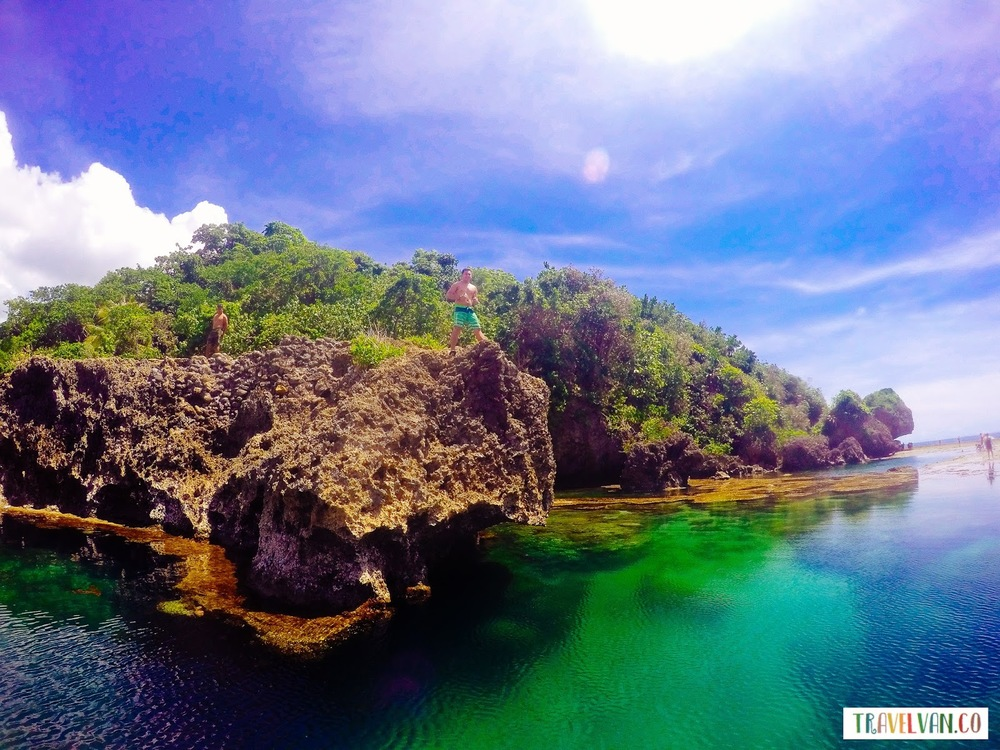 The amazing Magpupungko Beach and Tidal Pool in Siargao Philippines Asia