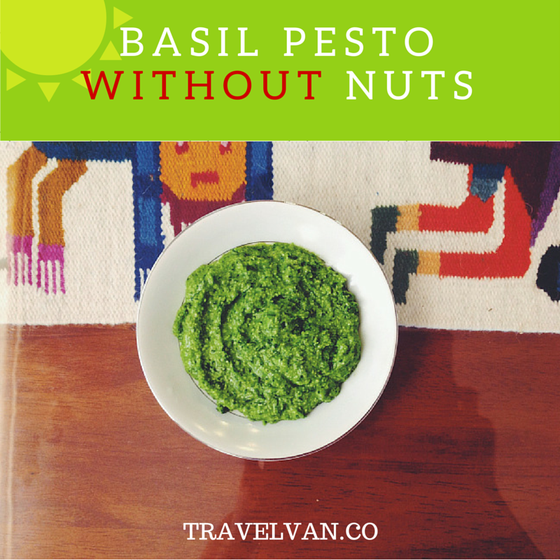 Basil Pesto without Nuts Recipe