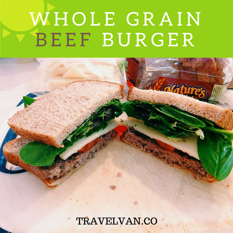 whole grain beef burger recipe