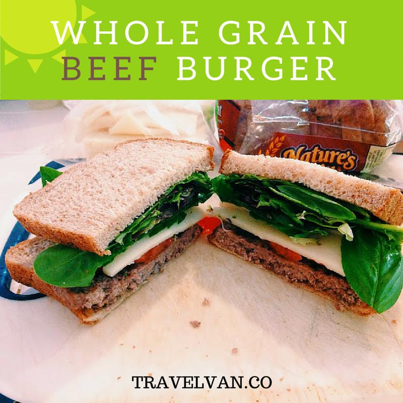 Whole Grain Beef Burger