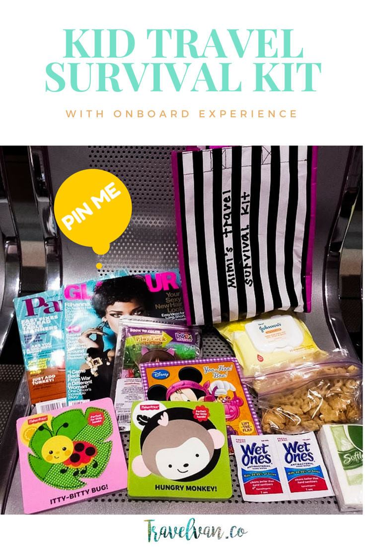Philippine Bound. On Board Experience and Mimi's Travel Survival Kit!