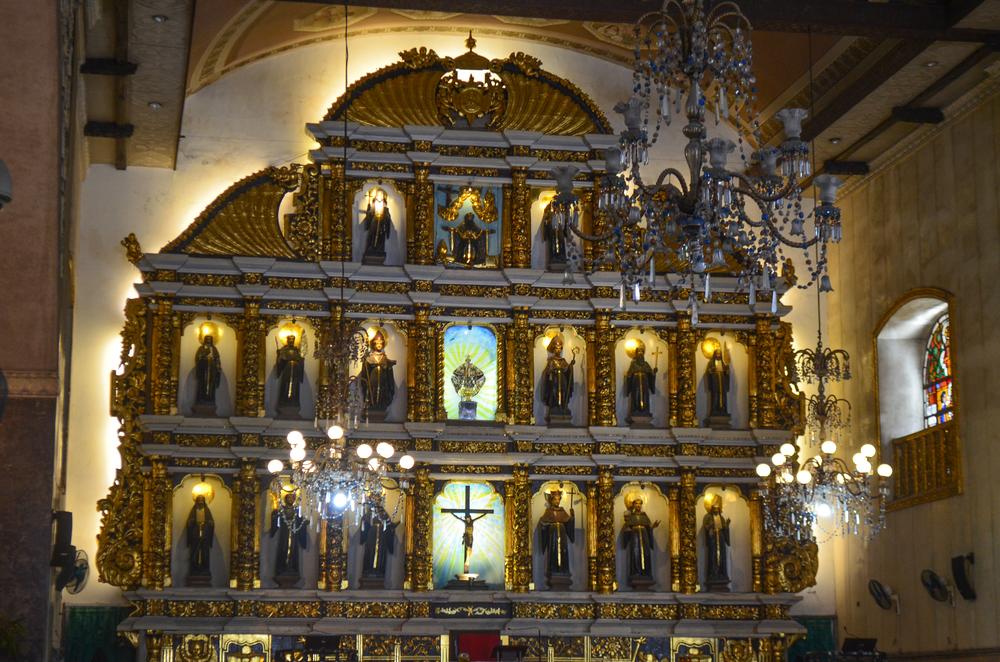 inside santo nino