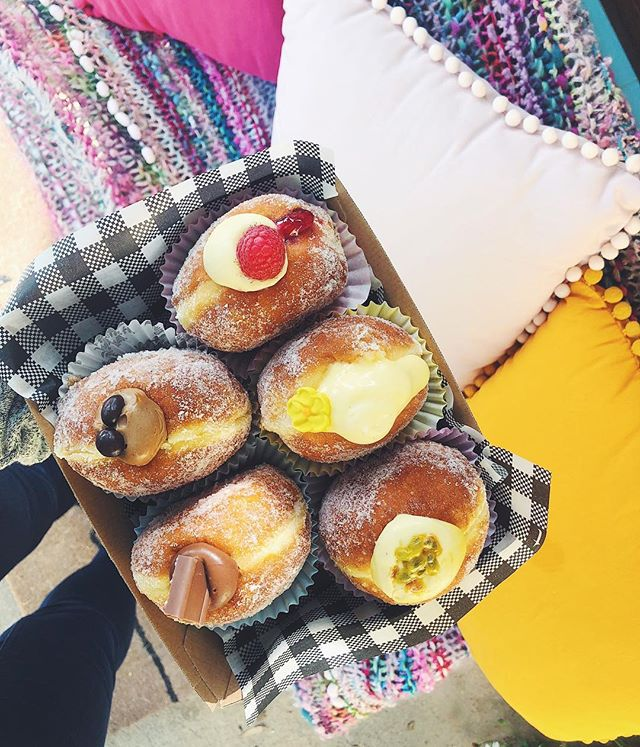 Flavours are up folks - chocolate, coffee, lemon, passionfruit & raspberry 🍩🍋🍫