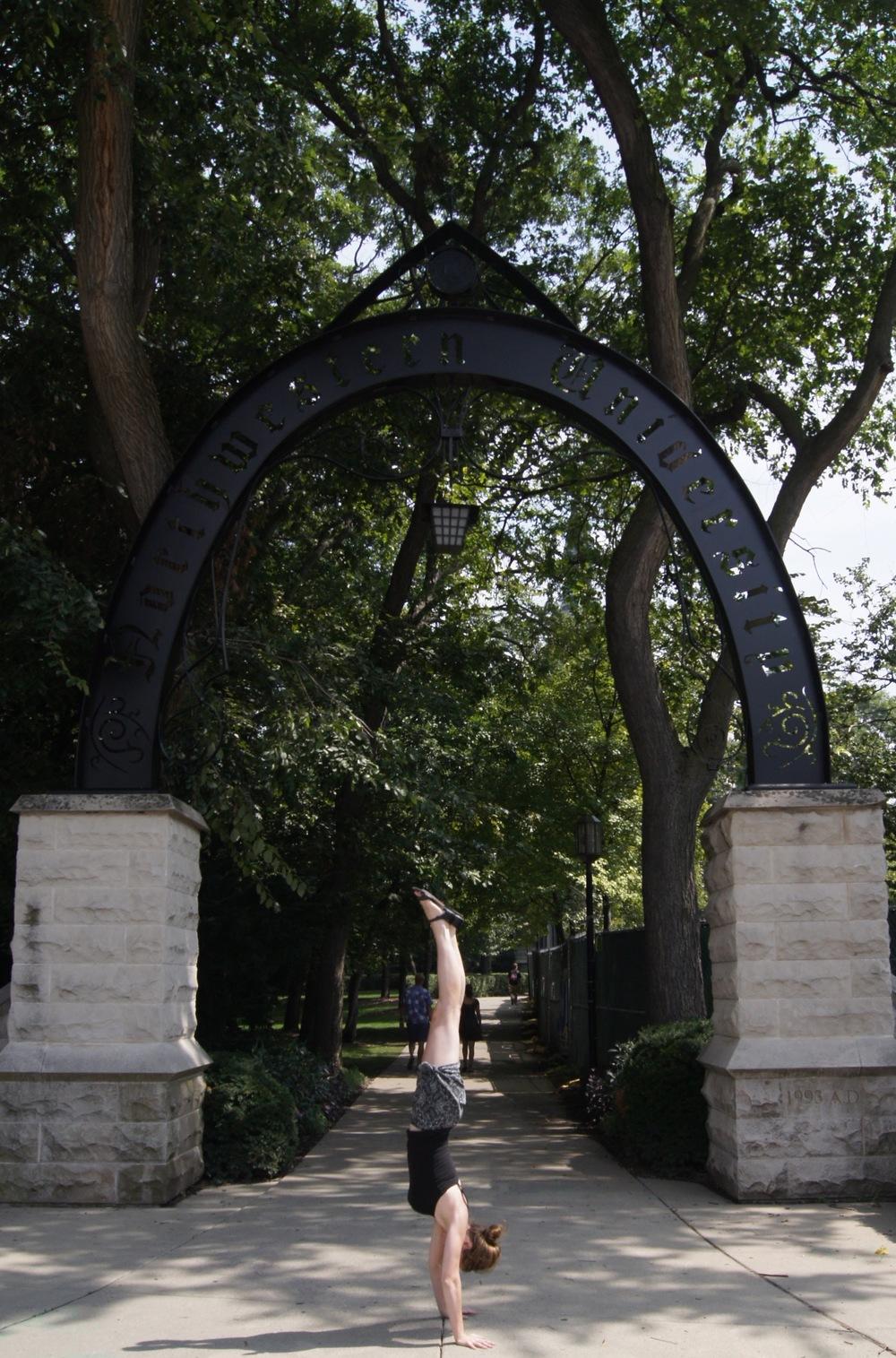 Northwestern University (my alma mater)