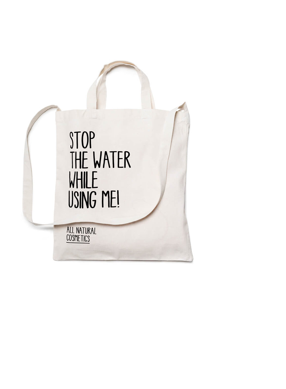 All Natural Cosmetics Tote Bag