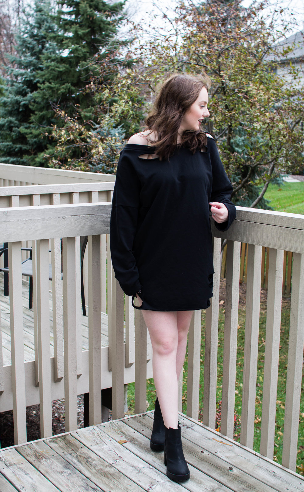 Sweatshirt Dress TOBI
