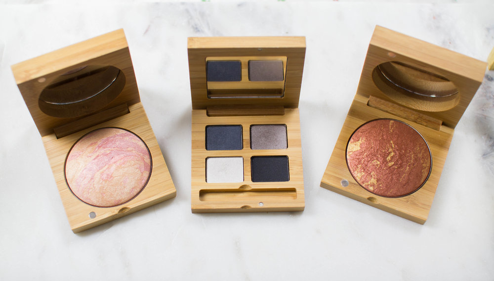 Vegan and Gluten Free Highlighter, Blush and Bronzer
