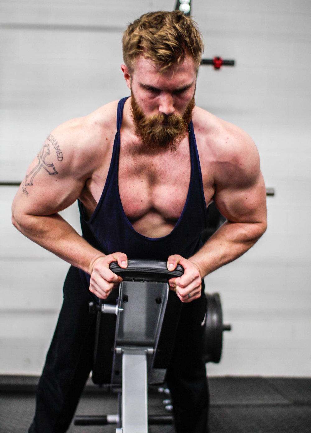 Powerlifting and powerbuilding coach, Mike Sell