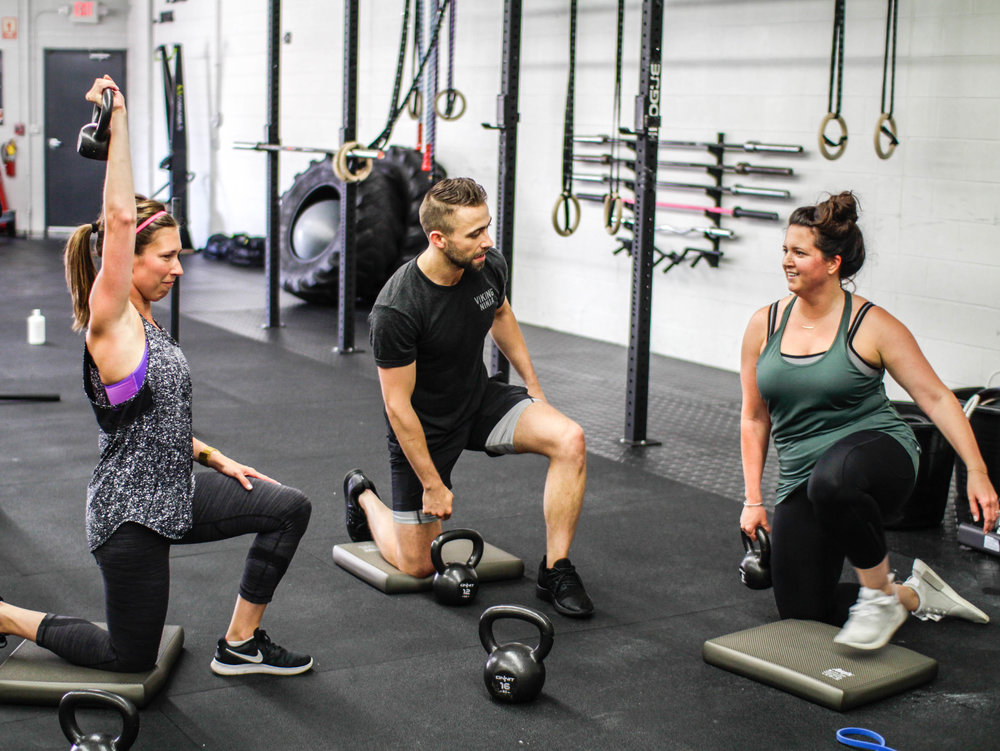 Post baby workout and personal training near Wheaton, Illinois