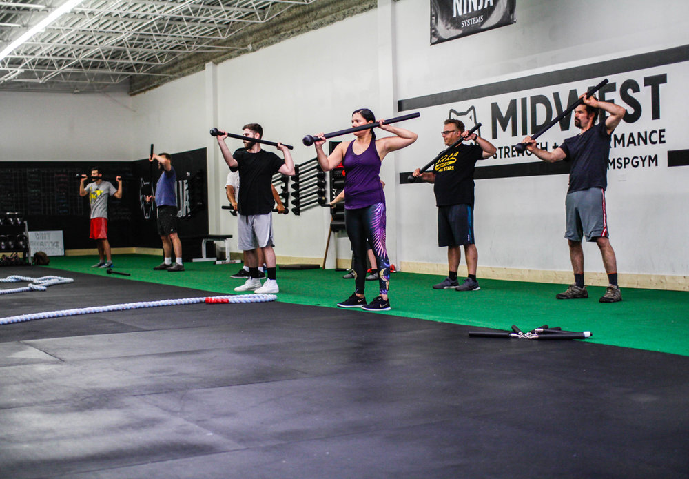 Steel mace classes near Chicago
